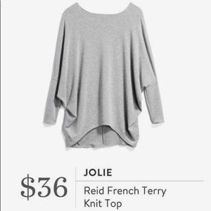 Stitch Fix Jolie Reid French Terry Knit Top, XL